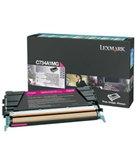 Lexmark C73X and X73X Magenta Toner Cartridge   6,000 page yield