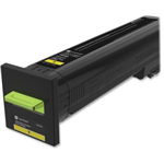 LEXMARK CS820/CX820/CX825/CX860 YELLOW TONER (8,000 PG. YIELD)