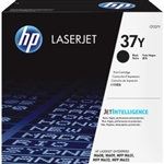 HP 37Y Black EHY Toner Cartridge   41000 Pages