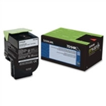 Lexmark 701HK Black High Yield Toner Cartridge (4,000 pg. yld.)