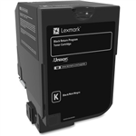 LEXMARK CS720/CS725 HY BLACK TONER (20,000 PG. YIELD)