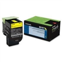 Lexmark 801XY Yellow Extra High Yield Toner Cartridge (4,000 pg. yld.)