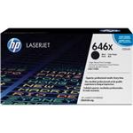 HP 646X High Yield Black Original LaserJet Toner Cartridge