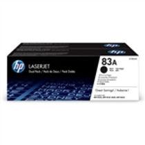 HP 83A Black Original LaserJet Toner Cartridge Dual Pack