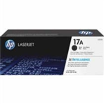 HP 17A Black Toner Cartridge    1600 Pages