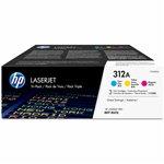 HP 312A Toner Cartridge Cyan;Magenta;Yellow 2,700 pages