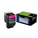 Lexmark 801SM Magenta Standard Yield Toner Cartridge (2,000 pg. yld.)