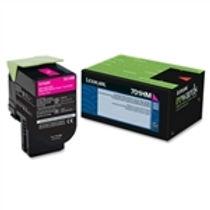 Lexmark 701HM Magenta High Yield Toner Cartridge (3,000 pg. yld.)