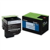 Lexmark 701XK Black Extra High Yield Toner Cartridge (8,000 pg. yld.)