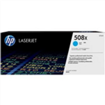 HP 508X Cyan HY Toner Cartridge 12500 Pages