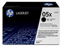 HP 05X 2 pack High Yield Black Original LaserJet Toner Cartridges