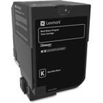 LEXMARK CS720/CS725/CX725 SY BLACK TONER (7,000 PG. YIELD)