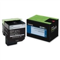Lexmark 801XK Black Extra High Yield Toner Cartridge (8,000 pg. yld.)