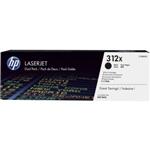 HP 312X BLACK DUAL PACK LJ TONER CARTRIDGE