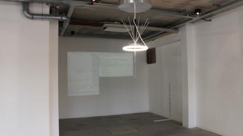 untilted chandelier