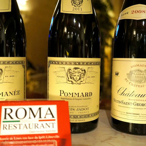 Bourgogne, Vin France, Roma Restaurant, Libreville - Gabon