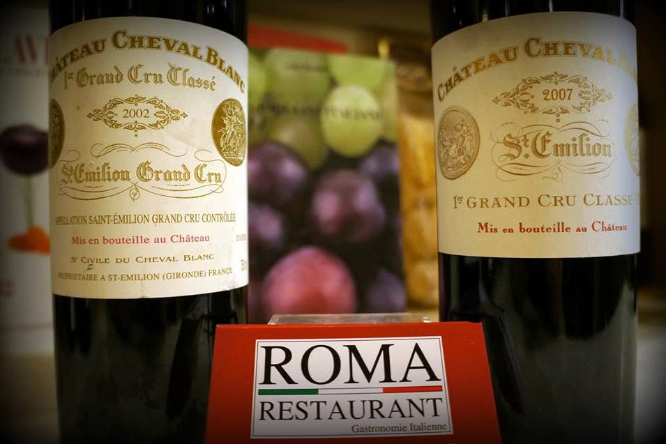 Chateau Cheval Blanc, Bordeaux, Roma Restaurant, Libreville - Gabon