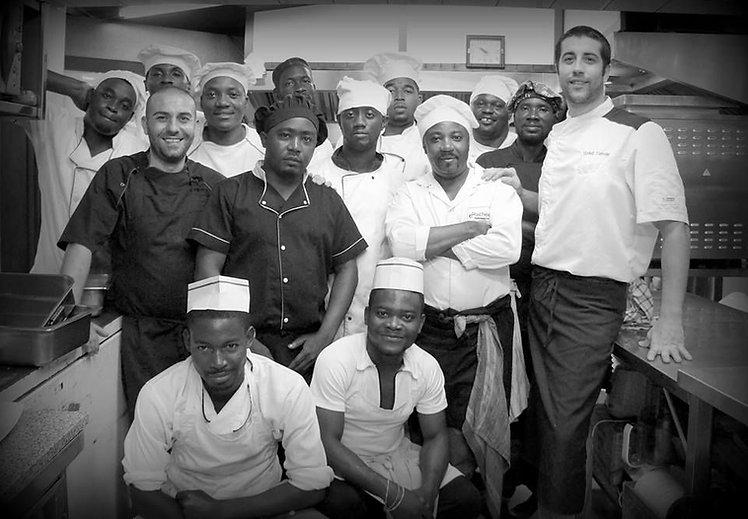 Cuisine, Team, Equipe, Roma Restaurant, Libreville, Gabon