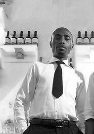 Anicet, Bar Manager, Roma Restaurant, Libreville, Gabon