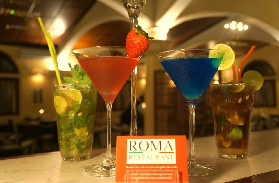 Cocktails, Mojito, Mojito Coco, Bar, Roma Restaurant, Libreville - Gabon