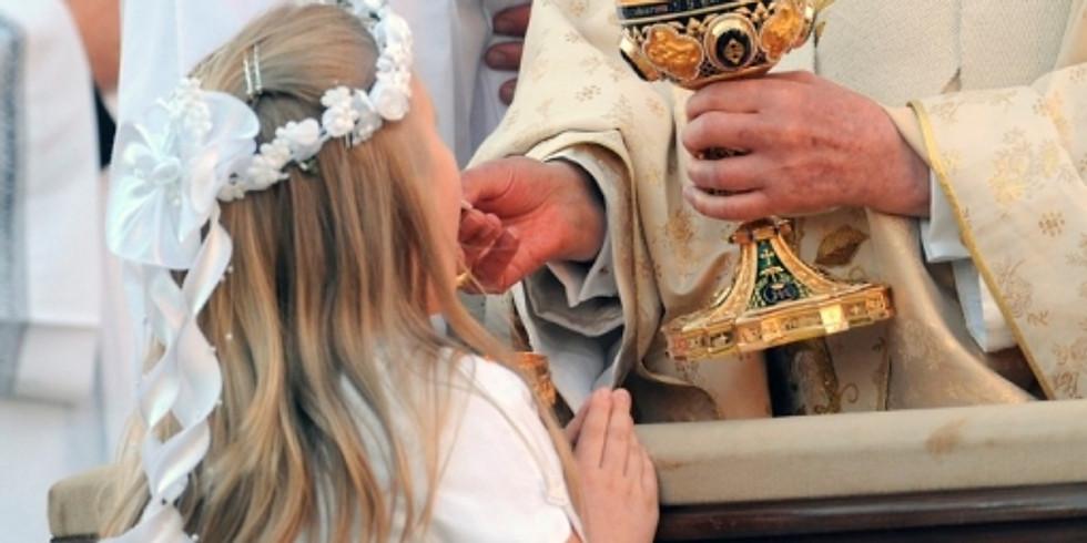 Catequese para crianças - Primeira Comunhão