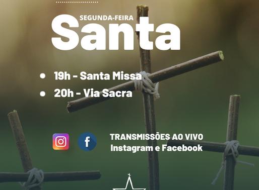 Via Sacra - Segunda-feira Santa