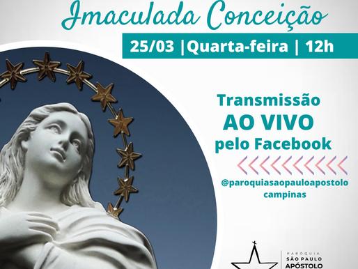 Ofício da Imaculada - AO VIVO