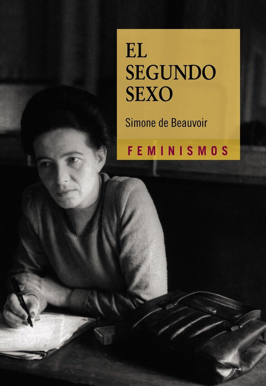 Portada del libro el segundo sexo. feminismos. una foto de simone de veavoir