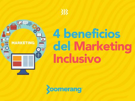 4 beneficios del Marketing Inclusivo | Efecto Boomerang