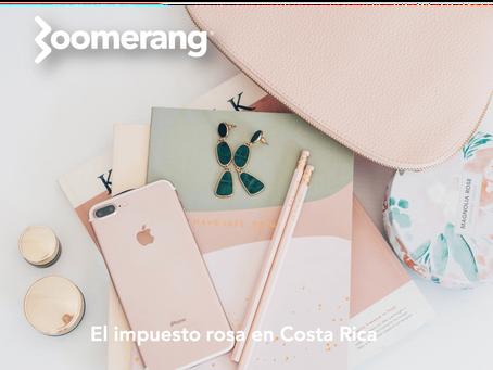 El impuesto rosa en Costa Rica
