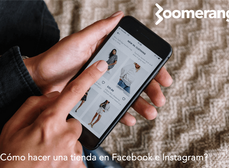 ¿Cómo hacer una tienda en Facebook e Instagram?