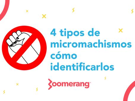4 tipos de micromachismos y cómo identificarlos | Efecto Boomerang