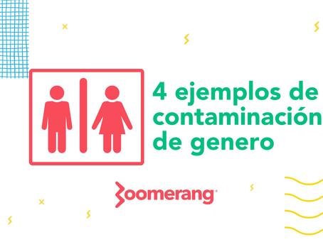 4 ejemplos de gender contamination | Efecto Boomerang