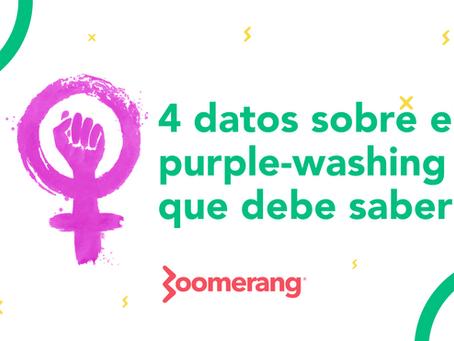 4 datos sobre el purple-washing que debe saber | Efecto Boomerang