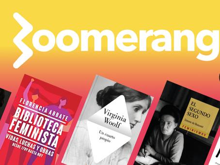 5 libros para aprender y conmemorar la lucha feminista