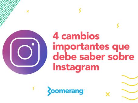 4 cambios importantes que debe saber sobre Instagram   Efecto Boomerang