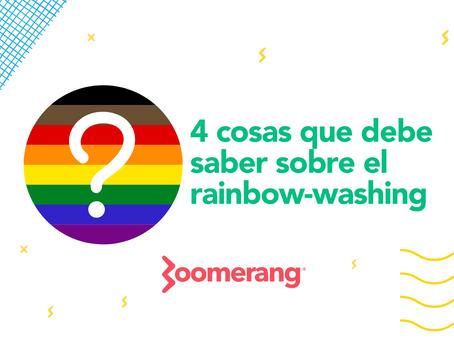 4 cosas que debe saber sobre el rainbow-washing | Efecto Boomerang