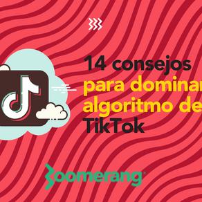 14 consejos para dominar el algoritmo de TikTok al crear contenido| Efecto Boomerang