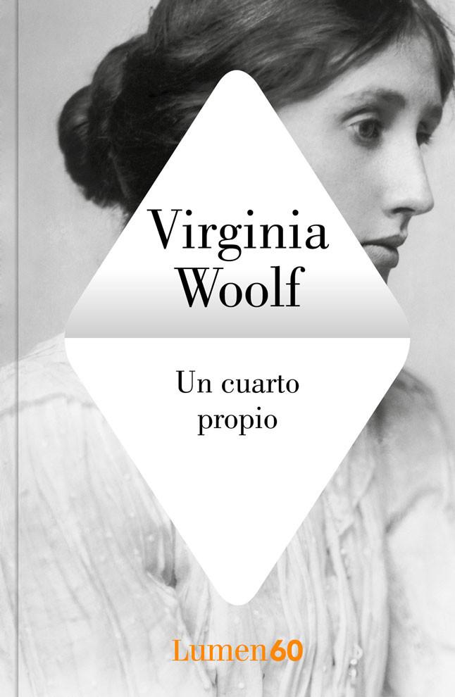 portada del libro Un cuarto propio con la foto de Virginia Woolf