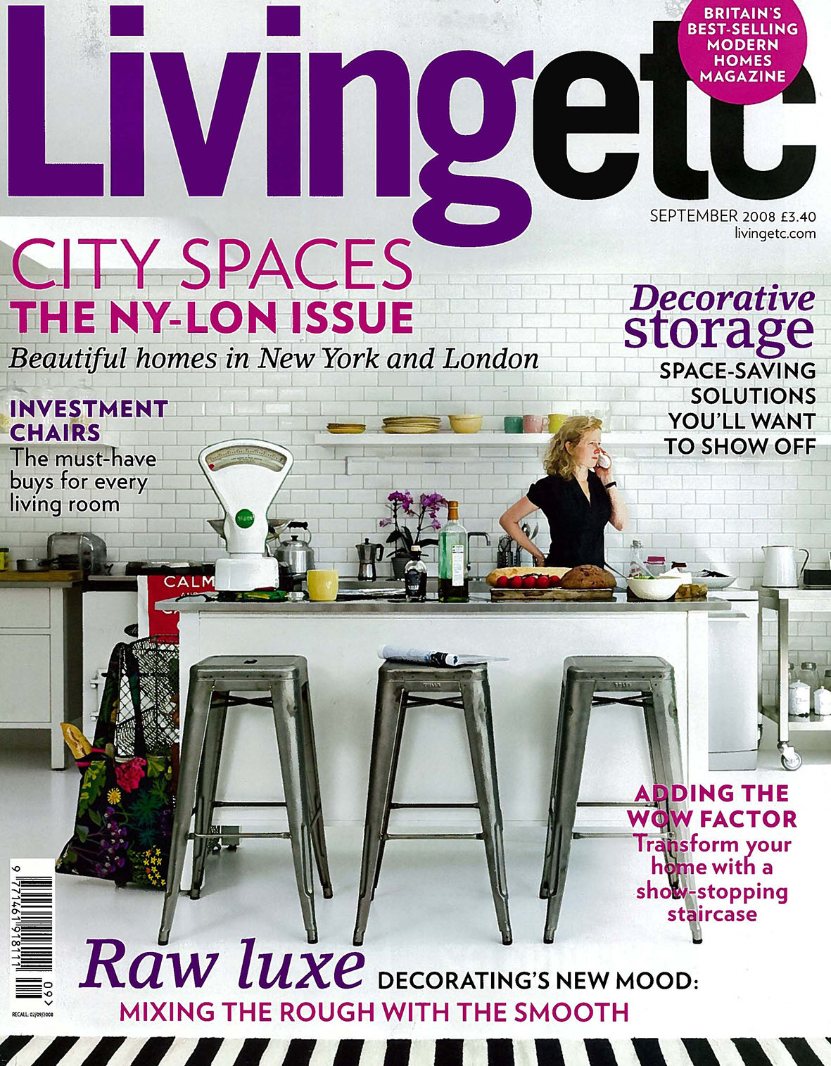 Living Etc Magazine 2008