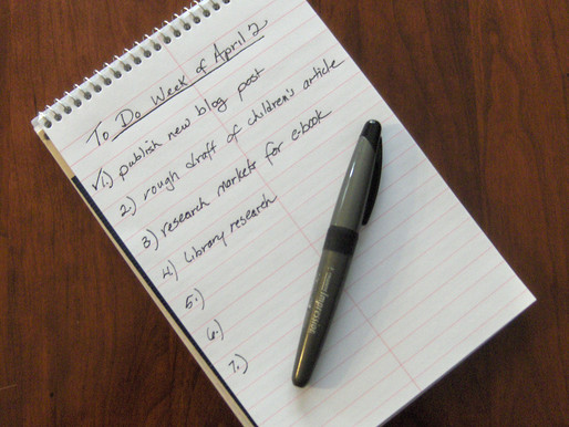 """""""To Do"""" Lists Help Writers Get Things Done"""
