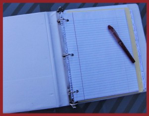 Getting Started Writing a Novel: Begin with a Notebook