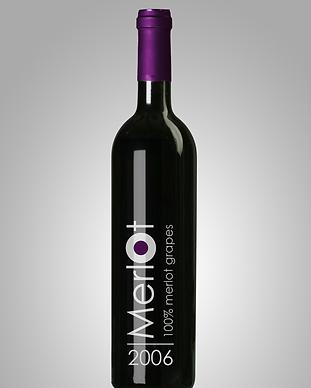 Merlot vin