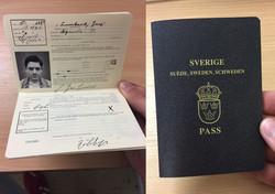 1940s Swedish Passport