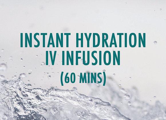 Instant Hydration - 60mins