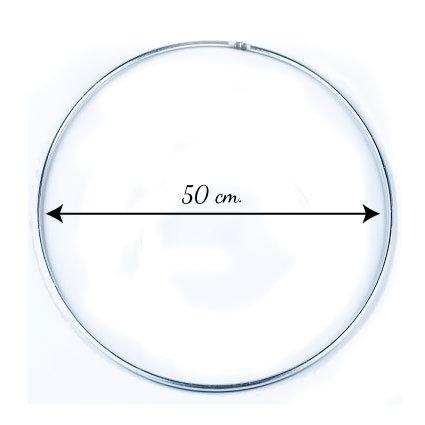 Metal ring 50 cm.
