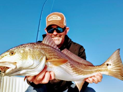 3 Inshore Fishing Tactics for Winter Redfish: Part II