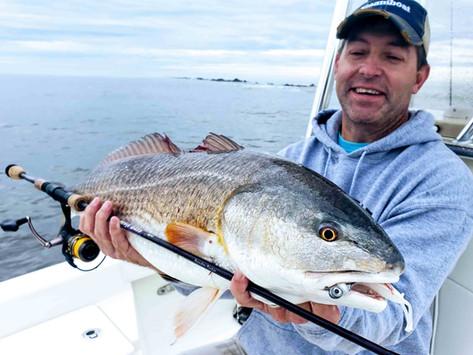3 Inshore Fishing Tactics for Winter Redfish: Part I