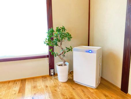 空気清浄機をスタジオ1F、2Fに設置いたしました