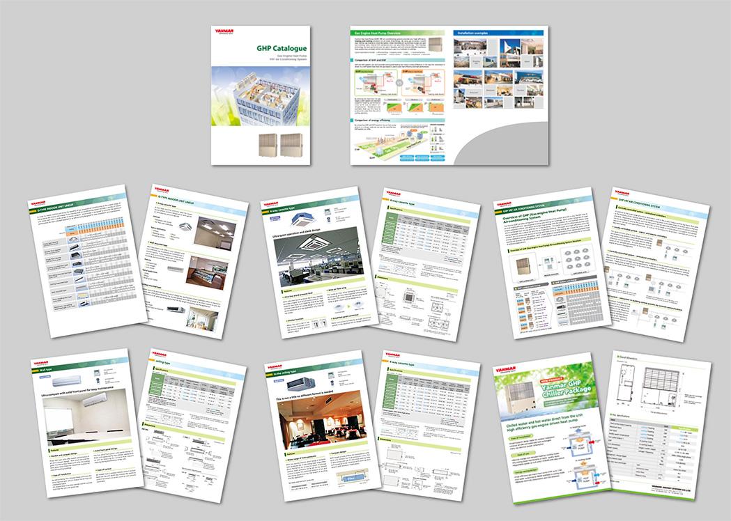 業務用エアコンのカタログ